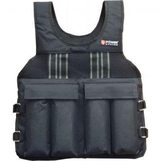 POWER SYSTEM Weighted vest 10kg súlymellény