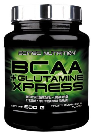 Scitec Nutrition BCAA + GLUTAMINE XPRESS + HOT BLOOD