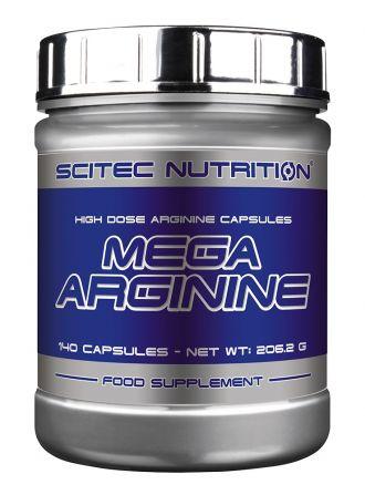 Scitec Mega Arginine 140 kapszula