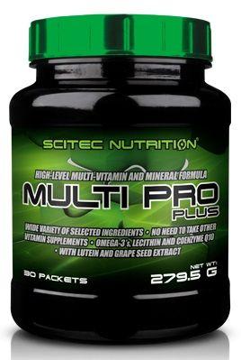 Scitec MULTI PRO plus 30 tasak + Scitec Protein Pudding 120g