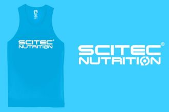 Scitec NORMAL TANK TOP BLUE