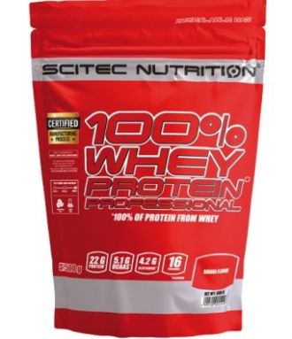 Scitec 100% Whey Protein Professional  500g banana