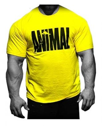 Universal Animal Iconic Shirt Yellow póló