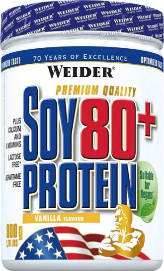 Weider SOY 80+ Protein 800g csokoládé