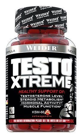 Weider TestoXtreme 120 Caps