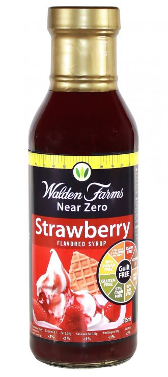 Walden Farms Syrup 360ml jahoda