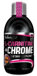Előnézet - BioTech L-CARNITINE + CHROME LIQUID 500ml