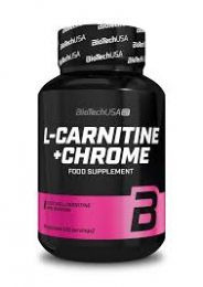 Előnézet - BioTech FOR HER L-Carnitine + Chrome 60 cps