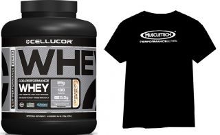 CELLUCOR COR-Performance Whey 1800g + Trikó + Bag + Shaker + Muscletech HYDROXYCUT Pro Clinical 60cps.