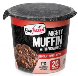 Előnézet - FlapJacked Mighty Muffin 55g Chocolate Peanut Butter