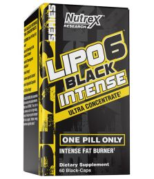 Nutrex Lipo 6 BLACK Ultra Concentrate INTENSE