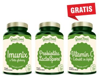 Előnézet - GreenFood Nutrition STRONG IMMUNITY + Vitamin C GRATIS