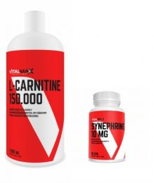 Vitalmax L-CARNITIN  150.000 LIQUID 1000ml + SYNEPHRINE