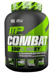MusclePharm Combat 100% Whey 2270g + AJ�ND�K kark�t�