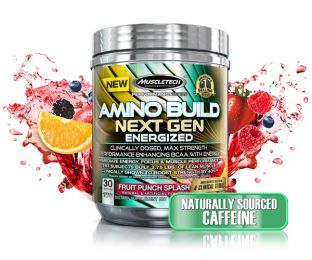 Előnézet - MUSCLETECH Amino Build Next Gen Energized 280g