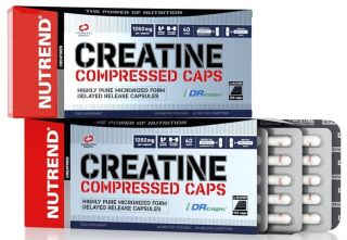 Előnézet - NUTREND CREATINE COMPRESSED 120 kps