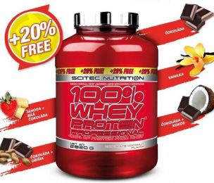 LIMITED EDITION Scitec 100% Whey Protein Professional 2820 g