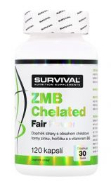 Survival ZMB Chelated Fair Power 120cps